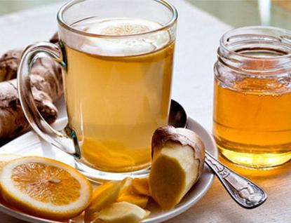 Имбирь лимон и медом
