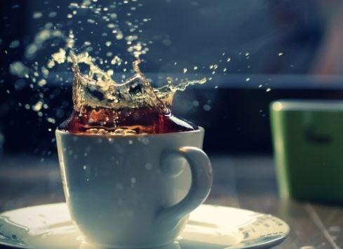 Как не следует пить чай