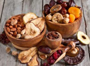 Польза сушеных продуктов